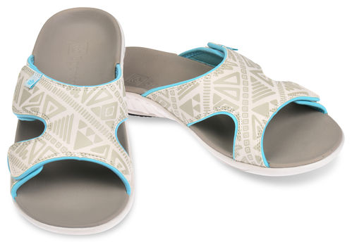 Spenco Tribal Slide Slip-in Sandalen Damen Marshmallow